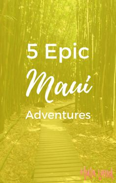 Don't miss these 5 amazing things to do on Maui including Haleakala sunrise and the Road to Hana