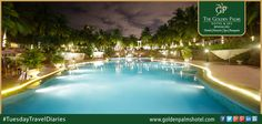 Featuring spacious accommodation, Golden Palms Hotel & Spa, Bengaluru, is a luxurious 5-star property with an outdoor swimming pool and 6 restaurants. Visit now at www.goldenpalmshotel.com for more details. #TuesdayTravelDiaries