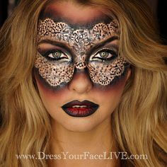 Obsessed with this Halloween makeup!