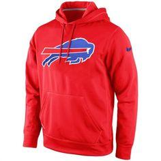 Nike Buffalo Bills Red KO Logo Essential Hoodie #bills #buffalo #nfl