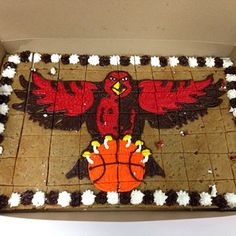 Whos hungry? #ATLHawks cookie cake.