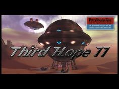 """Die THIRD HOPE II 60 Meter Kugelraumschiff Korvette Kaulquappe, located """"SecondLife""""-Grid, (we lost the land btw,the ship will be bac. Cyberpunk, Third, Fiction, Animation, Youtube, Movie Posters, Art, Art Background, Film Poster"""