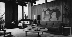 Hillside House - Architect Raul F. Garduno - Los Angeles, 1962