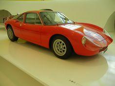 At the Enzo Ferrari Museum, Modena