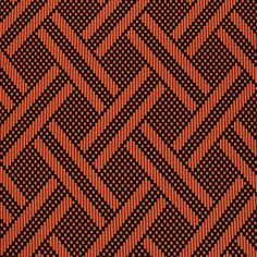 """Black Orange Ethnic Diamond Squares Peach Skin Fabric - Love this!  Lovely colors of soft black and coral orange ethnic diamond squares design on a peach skin fabric. Peach skin fabric has a soft brushed finish, does not wrinkle, and is perfect for dresses, top, and more!  Pattern repeat is 6"""".  ::  $6.50"""