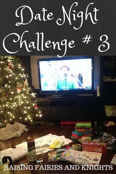 Date Night Challenge 3 Wrapping and Eggnog - It is imprtant to take some time to spend as a couple over the busy holiday season to relax and re-connect. Try out this easy date night you can do at home once the kiddies are in bed.