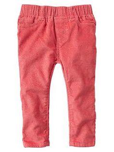 Sparkly corduroy legging pants | Gap