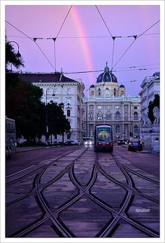 Trolley car. Vienna, Austria (1) From: FlickR, please visit