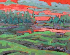 Jay Cooke State Park landscape painting by brendonfarley on Etsy Park Landscape, Landscape Paintings, Tom Thomson, Group Of Seven, Source Of Inspiration, The Rock, State Parks, Jay, Original Paintings