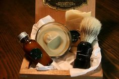 Eco Friendly Shaving Kit with Beer Shaving Soap by Orange Fuzz, Cincinnati
