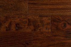 BuildDirect – Hardwood - Handscraped South American Collection – Brown Stone - Close View