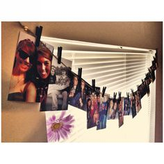 Craft, crafty, dorm, apartment, decoration, photos, pictures, clothes pins
