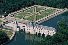 """Known as """"Chateau de Femmes"""" or """"the castle of six ladies"""" for the succession of powerful French noblewomen of Chenonceau, who each made an impact on the castle, forming it into the lovely chateau we see today. This enchanting castle may be smaller in comparison to others, but what it lacks in size it makes up in charm. Once home to Diane de Poitiers mistress to Henry II."""