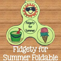 A fidgety, fun foldable to add to your End the Year activities! Students get to predict the fun they'll have this summer by writing and decorating on the toy of the year.