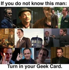 Mark Sheppard. Loved him since I saw him in supernatural. Now everywhere I see him I'm just like CRAWLEY! OMW