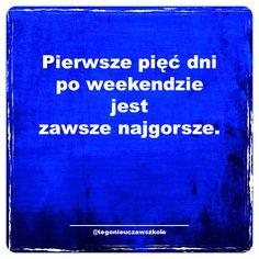 #cytaty #sentencje #memy #myśli #słowa #ciekawe #śmieszne #humor Motto, Funny Stories, Humor, Good Mood, Best Quotes, Haha, Infographic, Funny Memes, Thoughts