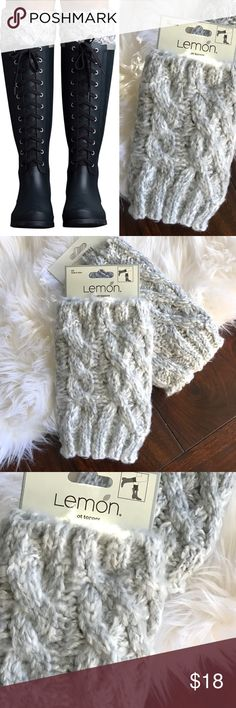 🎄LOOK! MARSHMALLOW FROST BOOT TOPPER Create a whole new look for your boots with these toasty toppers that hug your calves with warmth. + 100% acrylic + Machine wash  Bundle Discount ^ No Trades ^ Offers Considered ^ Have a question? Please Ask! Lemon Accessories Hosiery & Socks
