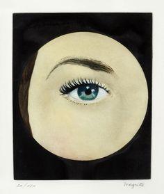 Magritte #zienrs #eyes #illustration