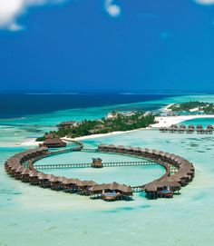 5 Most Affordable Overwater Bungalows and Overwater Huts | Romantic Honeymoon Resorts | Exotic Vacations | Olhuveli Beach and Spa