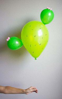 Cactus ballon <3