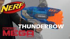 Nerf Mega Thunderbow Sonic Ice - Démonstration du jouet arc pistolet