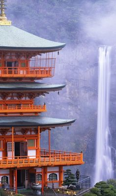 Nachi Falls in Nachikatsuura, Japan