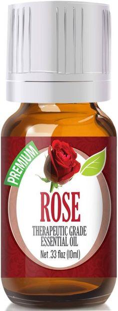 Rose (Organic) 100% Pure, Best Therapeutic Grade Essential Oil - 10ml