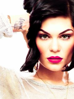 I absolutely love Jessie J. She is one of my inspirations.