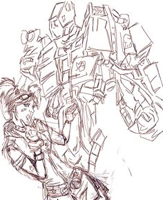 marindariin:  rough sketch of a thing i'm drawing.. i love playing as gaige especially because she annoys the hell out of my teammates