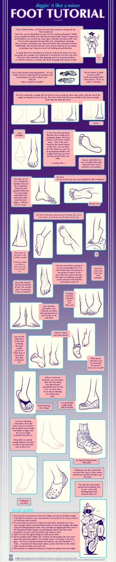 Foot tutorial by shingworks.deviantart.com on @DeviantArt