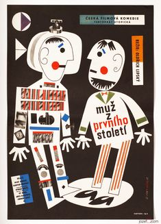 Man in Outer Space (1961). Czechoslovak poster Jan...