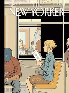 Wonderful comic book artist Adrian Tomine.