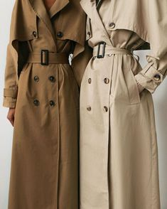 Classy Outfits, Chic Outfits, Beautiful Outfits, Trendy Outfits, Fashion Outfits, Trench Coat Outfit, Trench Coat Style, Red Slip Dress, Mode Hijab