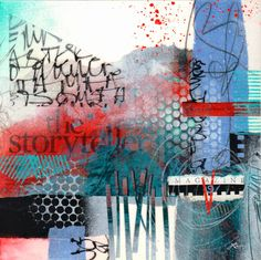 Collage art of Laura Lein-Svencner: Tack Down Tuesday\'s