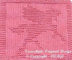 Knitting Cloth Pattern  PEGASUS  PDF  Instant by ezcareknits