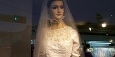 Visit the bridal shop where an embalmed corpse models the dresses. The tale begins on March 25th in 1930, when the odd-looking mannequin was first placed in the windows of La Popular, one of the most well-known bridal shops in Chihuahua, Mexico.