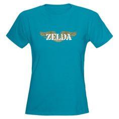 Zelda - Wings Funny Women's Dark T-Shirt by CafePress
