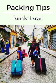 There is packing and then there is family travel packing. Clothes cords and lets not forget the kids themselves.