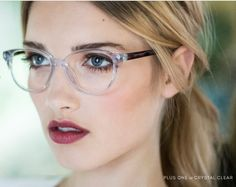 Rivet & Sway Plus One Crystal Clear Lenses