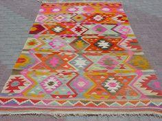 bohemian rugs | MODERN Bohemian Turkish Kilim , Area Rug Carpet, Handwoven Kilim Rug ...