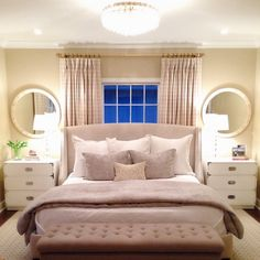 50 The Ultimate Bedroom Curtains Behind Bed Trick 101 targetinspira Narrow Bedroom, Small Master Bedroom, Master Bedroom Design, Cozy Bedroom, Dream Bedroom, Modern Bedroom, Budget Bedroom, Bedroom Ideas, Window Behind Bed