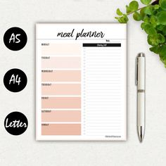 MEAL PLANNER AND GROCERY LIST - PRINTABLE PLANNER INSERTS  Eat better, feel better! Easily plan and organize your weekly meal and prepare your grocery shopping list in a minute.  - - - - - - - - - - - - - - - - - - - - - - - - - - - - - - - - - - - - - - - - - - - - - - - - - - - - - - - - - - - INFORMATION  Please note that this listing doesnt include a physical item.  Upon payment, you will instantly receive a download link to the high resolution PDFs (3 ZIP files), so that you can print…