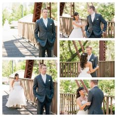 Boise, ID Wedding Photography || Nate Perkes || first look