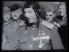 Александр Покрышкин - 1945 Советский документальный фильм хроника о Покр...