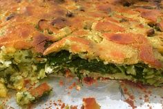 Πίτα μπλατσάρα Gf Recipes, Greek Recipes, Dessert Recipes, Cooking Recipes, Recipies, Cookie Dough Pie, Cypriot Food, Greek Pita, Greek Cooking