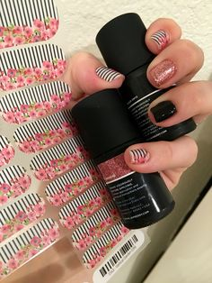 Vertical Garden with Black Onyx TruShine and Adore Me TruShine Jamberry