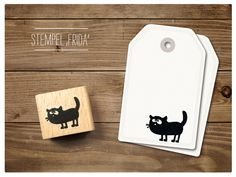 #Stempel #Katze Frida