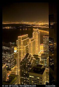 by QT Luong   San Fran at night