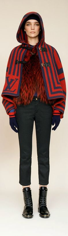 Cozy can mean a lot of things..Louis Vuitton Pre-Fall 2013 <3 na
