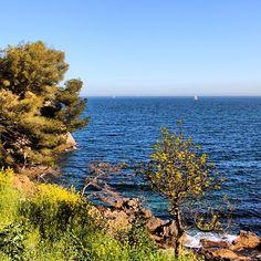 Sentier des douaniers à Toulon  Suivez nous sur Instagram  Follow us on Instagram